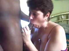 Hubby Video Tapes Chubby Mature White Wife Fucking BBC