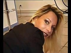 Mature Blonde Housewife Has Some Anal Ideas For His Prick