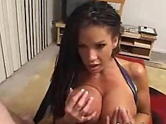 Busty Holly Body POV Blowjob