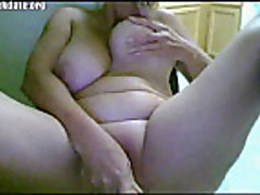 Blonde webcam milf