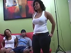 Jersey Latinas Exposed 3some Action (Excl ...