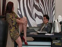Sheila marie bangs her boss at milfs want big cock
