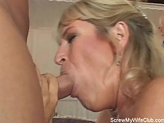 Swinger Wife Gets Screwed Hard