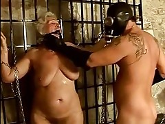 Granny getting punished and fucked hard