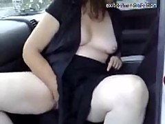 Masturbation in my car on a parking place