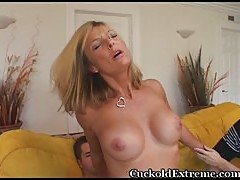 MILF trying younger dick