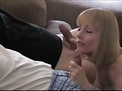 Busty Blonde Melanie Loves It When She Gets Two Cocks In Her Holes